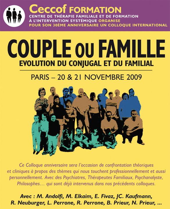 affiche colloque Ceccof 2009